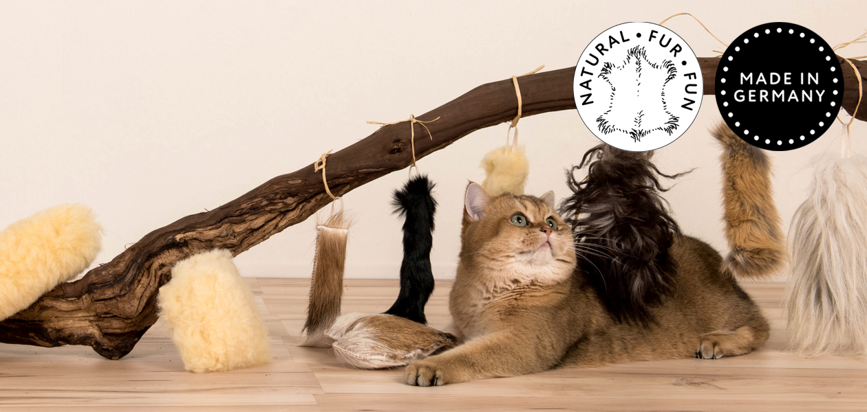Real Fur Fun - Cat toys Made in Germany
