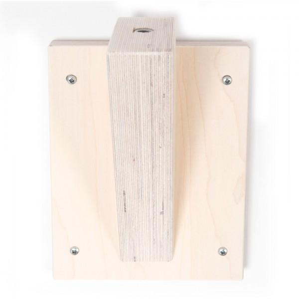 Wood finish White