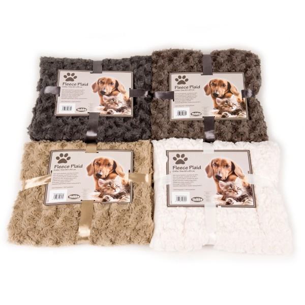 Cat blanket - Fleece Plaid all colours