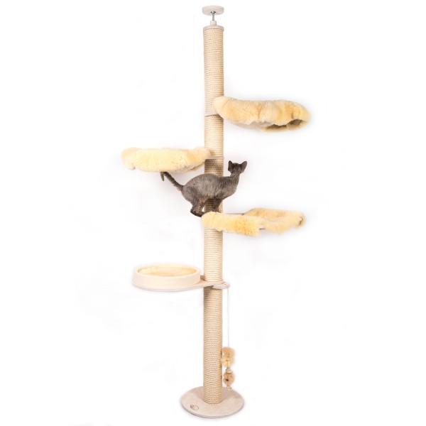 Ceiling Lambskin Cat Tree Model Smilla
