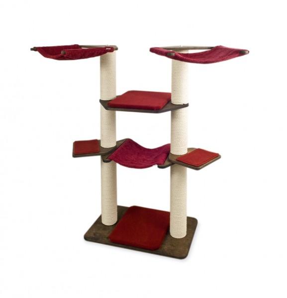 Eiche Bezug Teppich Rubinrot / Oak, Carpet Cover Ruby Red