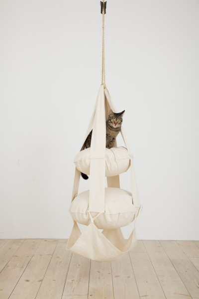 The Cat`s Trapeze - 2 Pillow