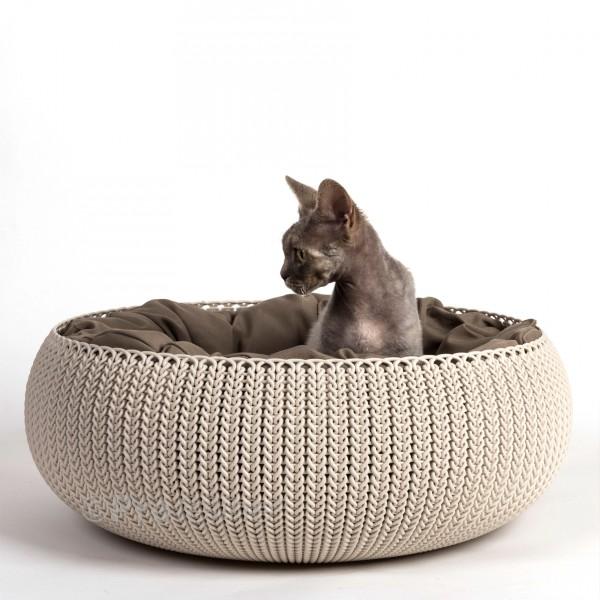 Curver - Cozy Pet Bed Knit