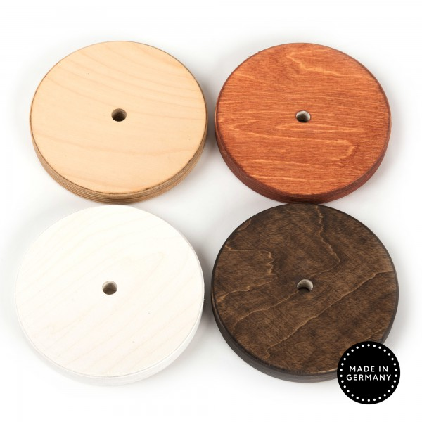 Zwischenscheibe Holzfarben