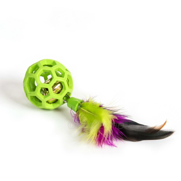 JW - Feather Ball with Bell