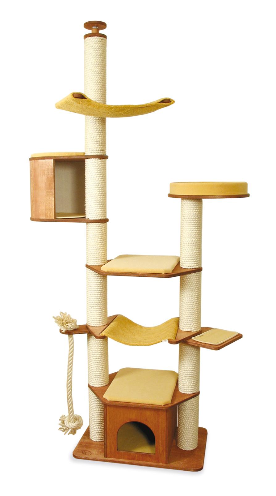 xxl kratzbaum deckenhoch f r gro e katzen profeline cat supplies. Black Bedroom Furniture Sets. Home Design Ideas