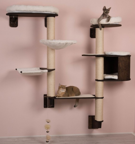 cat climbing tree model gesa for wall mounting profeline cat supplies rh profeline shop com